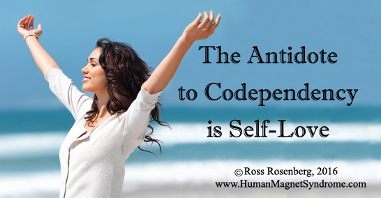 self love is the antidote to codpendewncy