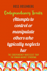 Attempts to control or manipulate others who typically neglects her