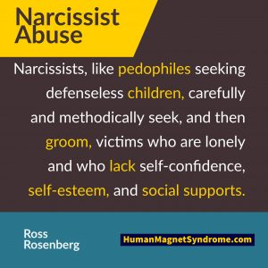 what narcissistic abuse looks like