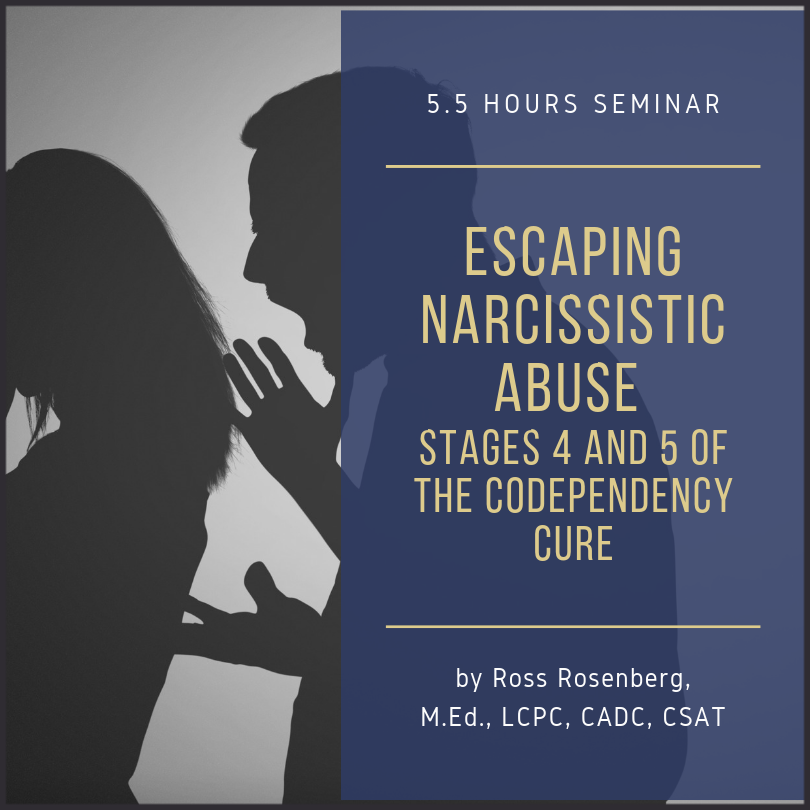 escaping narcissistic abuse narcissistic abuse gaslighting observe don't absorb ross rosenberg